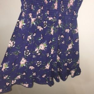 navy with flowers jumper, short but so cute!